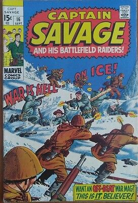 Captain Savage and his Battlefield Raiders #16