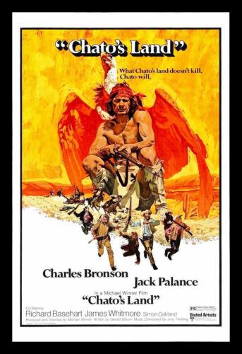 Chatos Land FRIDGE MAGNET Charles Bronson 6x8 Magnetic Movie Poster