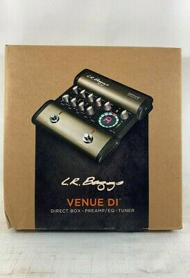 LR Baggs Venue DI Acoustic Guitar Direct Box Preamp EQ Tuner #A2B