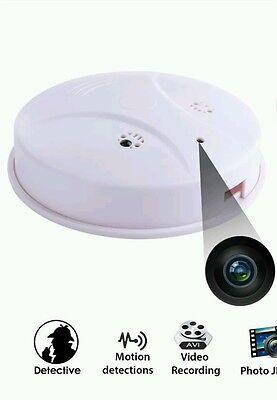 SECRET 32GB Spy Camera Cam Smoke Alarm Detector DV Video DVR Nanny Hidden Motion Spy Camera Motion Detector