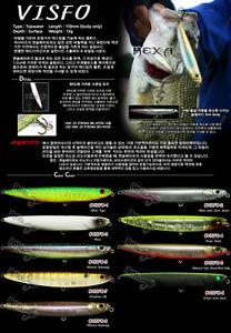 PAYO-VISFO-110F-Topwater-Pencilbait-Stickbait-Bass-Fishing-Lure