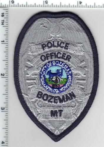 Bozeman Police (Montana) Uniform Patch - new