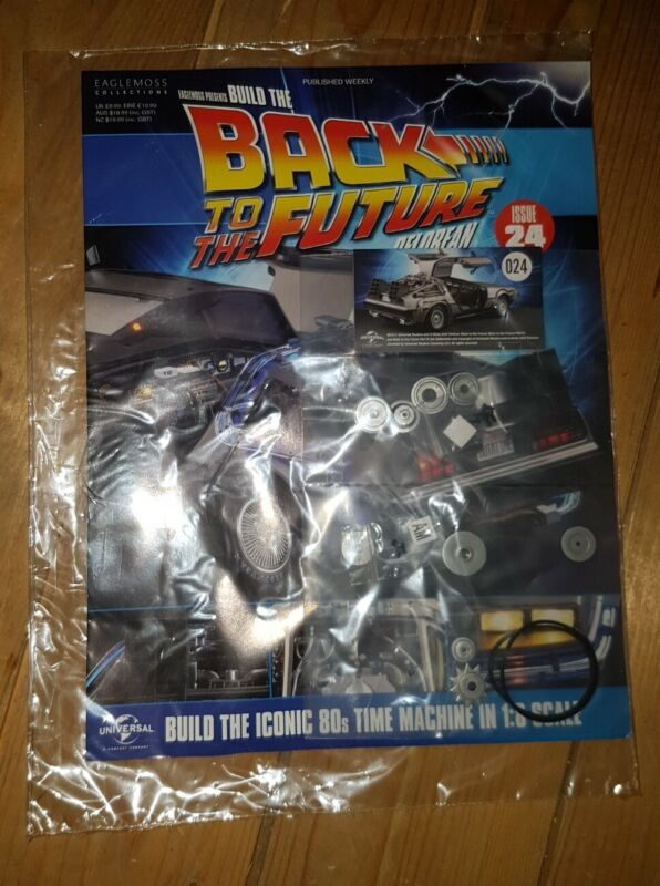 1%3A8+SCALE+EAGLEMOSS+BACK+TO+THE+FUTURE+BUILD+YOUR+OWN+DELOREAN+ISSUE+24+COMPLETE