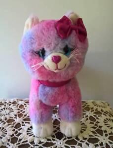 Fairy Floss Girl Kitten Cat Soft Plush Girls Toy AS NEW