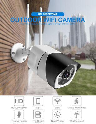 Wifi IP Cámara 1080P FHD Vigilancia Seguridad IP Inalámbrica Visión Nocturna IR