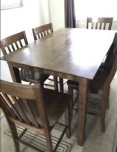 Solid a Wood Dinning Table