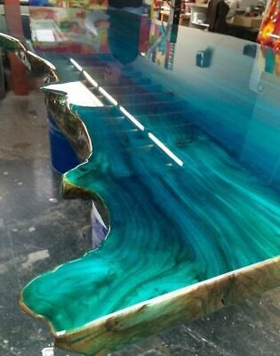 Colourful Designer Metallic Epoxy Resin Dye Pigments for Floors Worktops Marble