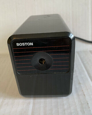 Boston Hunt Electric Pencil Sharpener Model 18 296a Made In Usa Working