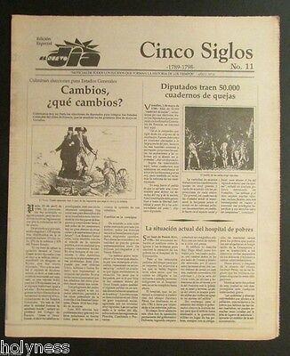 El Nuevo Dia    Vintage Newspaper   Cinco Siglos De Historia   11   Puerto Rico