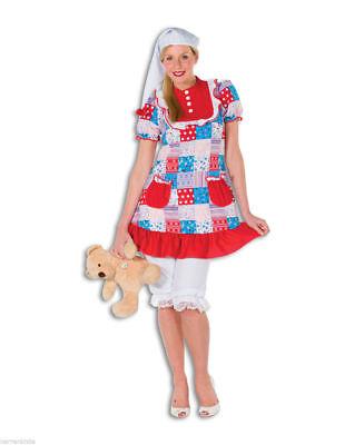 FFF - Damen Kostüm Babydoll Nachthemd Karneval Fasching