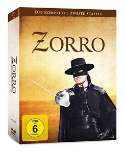 Zorro-Die-komplette-zweite-Staffel-Serie-2-7-DVD-Edition-NEU-OVP