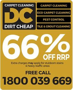 66% OFF Carpet Cleaning RRP* & Pest Control Maroochydore Maroochydore Area Preview