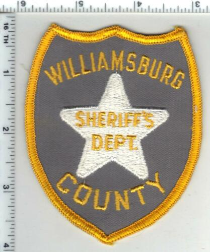 Williamburg County Sheriff (South Carolina) 1st Issue Shoulder Patch
