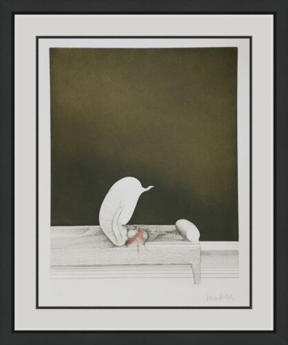 "Paul Wunderlich ""sofafigur"" 1968   Rare Signed Etching/aquatint   Make An Offer"