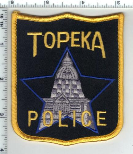 Topeka Police (Kansas) 2nd Issue Shoulder Patch