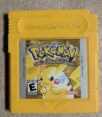 Pokemon Yellow Version; Special Pikachu Edition