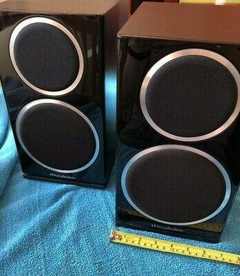 Wharfedale Diamond 220 Bookshelf Speakers Black Ebony Excellent