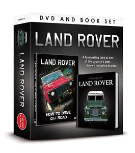 LAND ROVER HOW TO DRIVE OFF ROAD DVD & LITTLE BOOK GIFT SET - 4X4 DRIVING