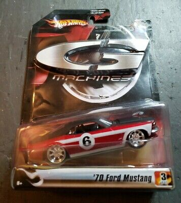 2006 HOT WHEELS G Machines  1970 '70 FORD MUSTANG 3/11 NEW Red