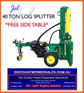 BRAND NEW 40 TON Hydraulic Log Splitter 13hp Leongatha South Gippsland Preview