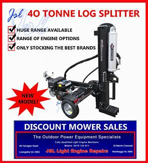 LOG SPLITTER & RIDE ON MOWER CLEARANCE SUNDAY 14TH JUNE 10AM-1PM Leongatha South Gippsland Preview