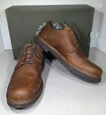 Timberland Squall Canyon Men's Sz 9 Brown Waterproof Oxford Shoes X2-761