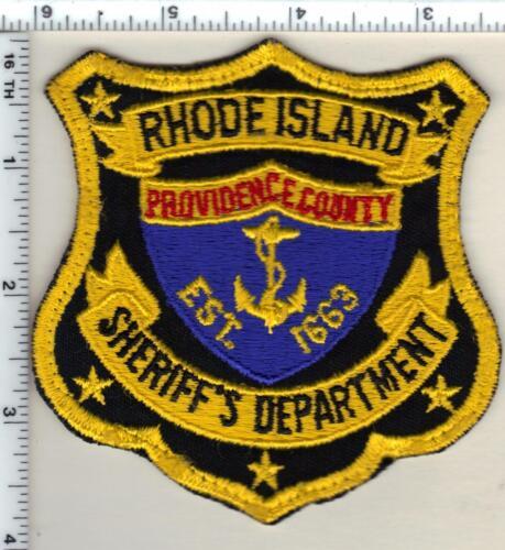 Providence County Sheriff