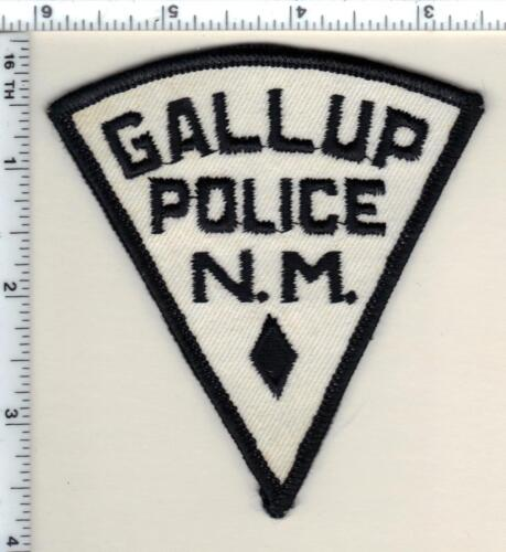 Gallup Police (New Mexico) Shoulder Patch from 1993