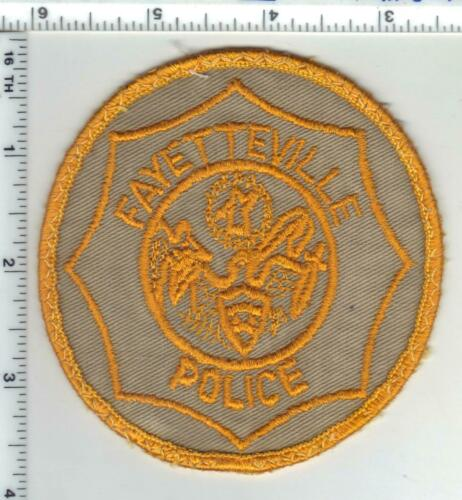 Fayetteville Police (Arkansas) 1st Issue Uniform Take-Off Shoulder Patch
