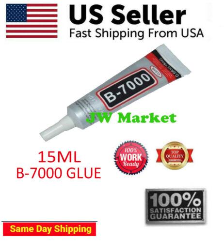 15 ML B-7000 Multi-Purpose Glue Adhesive Phone Frame Bumper Jewelry Universal US