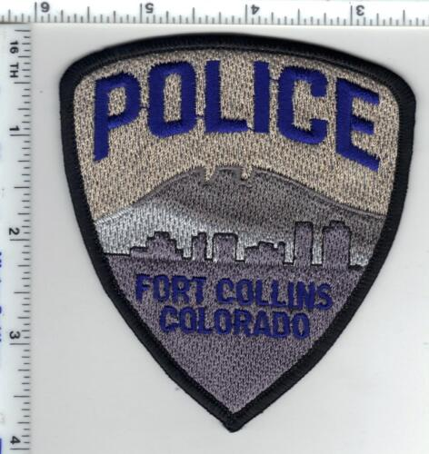 Fort Collins Police (Colorado) Uniform Take-Off Shoulder Patch from the 1990