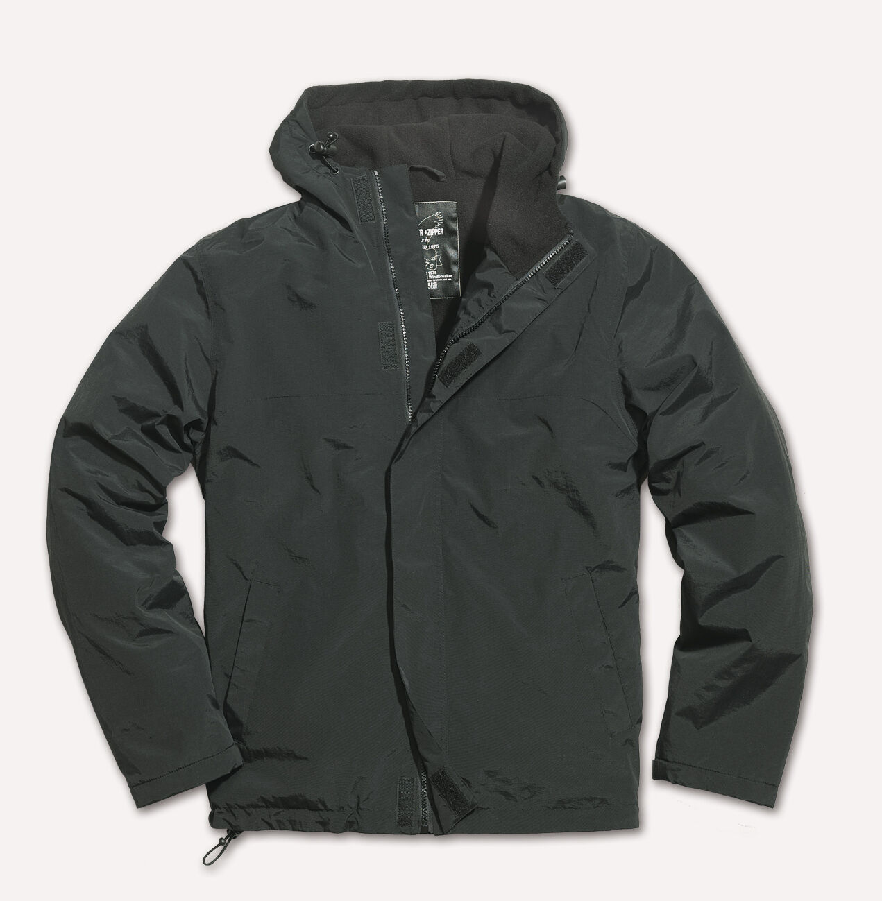 Surplus Windbreaker Zipper 20-7002 Herren Regenjacke Jacke Kapuze Reißverschluß