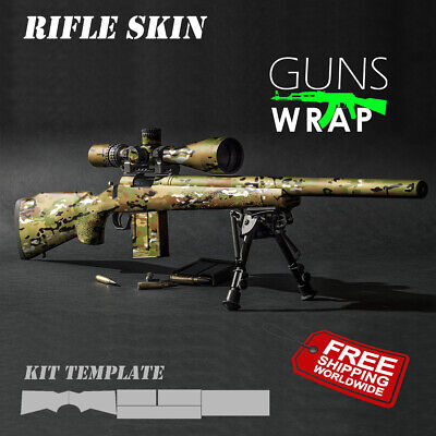 Rifle skins 149 patterns GunsWrap Best skin Camouflage Kit for Gun. Gun Wrap