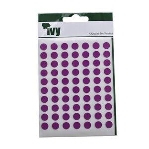 Morado-Adhesivo-Dot-Etiquetas-Autoadhesivo-Circular-Color-Purpura-Pegatinas