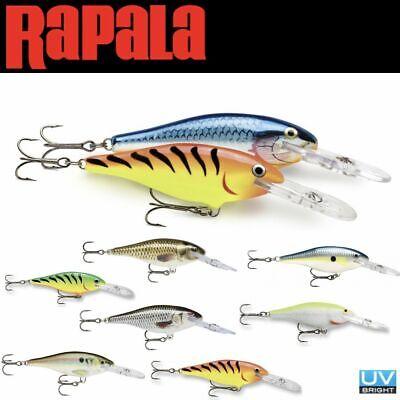 RAPALA BALSA WOOD CASTING & TROLLING LURE SHAD RAP SR07 ()