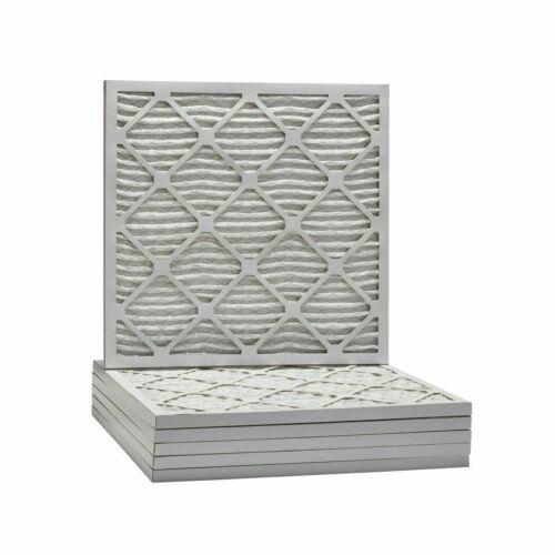 20x20x1 Ultimate Allergen Merv 13 Replacement Furnace Air Filter 6 Pack - NIB