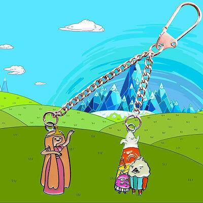 Adventure Time Princess Bubblegum & The Candy People Key chain / Keyring ](The Bubblegum Princess)