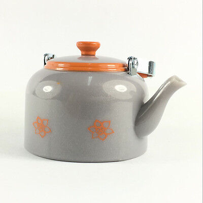 """1.5""""Grey Teapot Kettle AMERICAN GIRL DOLL LANIE RV CAMPER REPLACEMENT Figure Toy"""