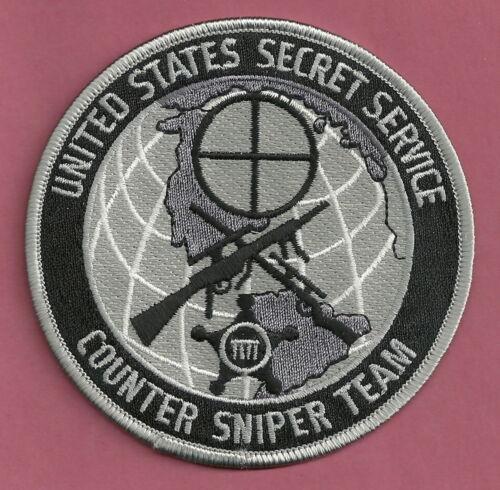 U.S. SECRET SERVICE COUNTER SNIPER TEAM SHOULDER PATCH GRAY