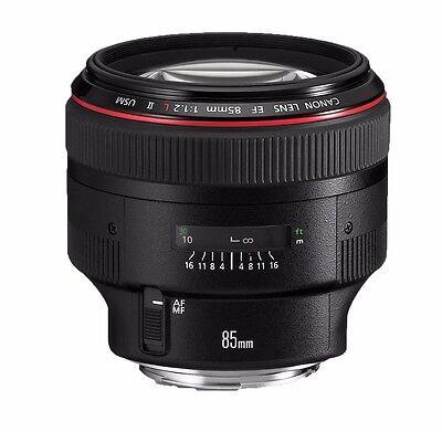 Canon EF 85 mm 1:1,2 L II USM *NEU* Ware f. D HÄNDLER** abzügl. CashBack 200,-€ online kaufen