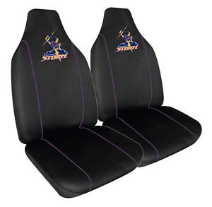 MELBOURNE STORM OFFICIAL NRL™ LICENSED SEAT COVERS AIRBAG COMPATIBLE *BRAND NEW*