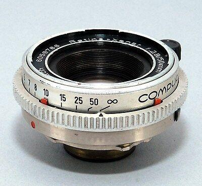 VINTAGE SCHNEIDER-KREUZNACH RETINA-XENAR 50mm f2.8 LENS!! **READ**