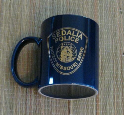 Sedalia Missouri Police Coffee Mug.