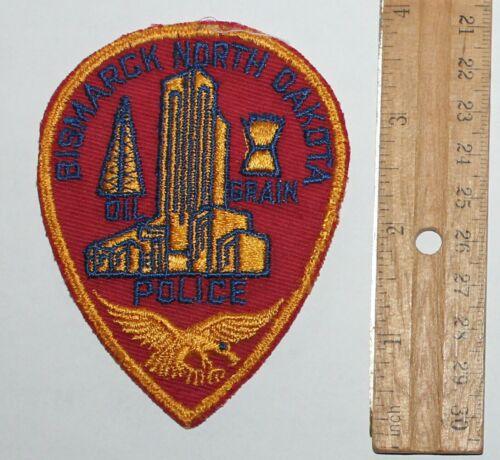 Very Old BISMARCK POLICE North Dakota Capital City PD ND Vintage patch