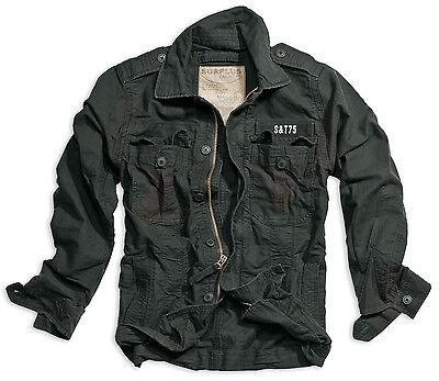 Surplus Heritage vintage veste lavés Couleurs d/'été veste hommes corps souligne