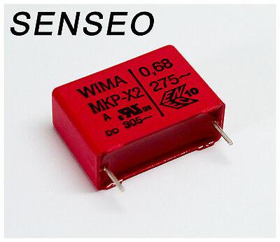 Kondensator MKP X2 0,68µF 275V Senseo 7850 7852 7854 7855 7857 uvm.