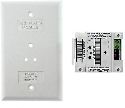 NEW EST EDWARDS M501MF MINI FIRE ALARM INPUT MODULE
