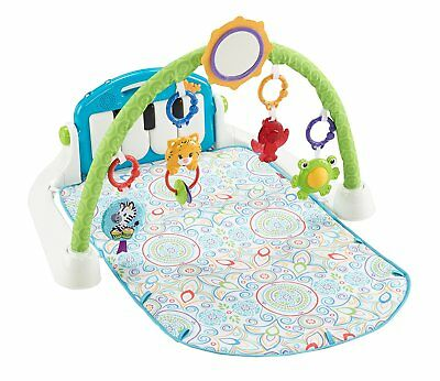Fisher Price First Steps Kick And Play Piano Gym  White  Pls Read Details