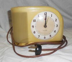 Vintage Westclox Electric Alarm Clock  Moonbeam