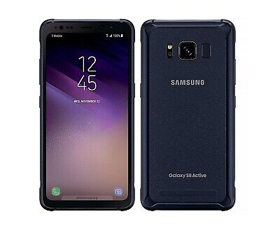 Samsung Galaxy S8 Active 64gb Meteor Gray AT&T Unlocked Fully Works Discounted!